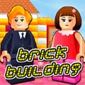 Byg med legoklodser spil